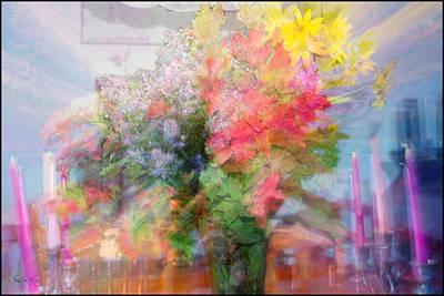 Photograph - Autumn Bouquet by Wayne King