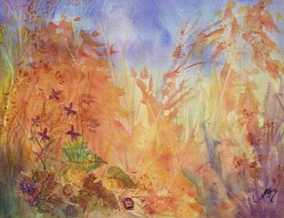 Painting - Autumn Breeze by Ellen Levinson