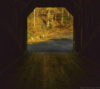 Photograph - Autumn Bridge II by Kathi Isserman
