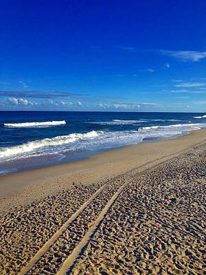 Photograph - Autumn Carolina Beach by Joan Meyland
