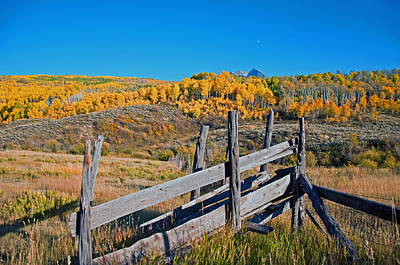 Photograph - Autumn Cattle Ramp  by Eric Rundle