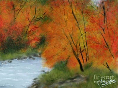 Digital Art - Autumn by Chitra Helkar