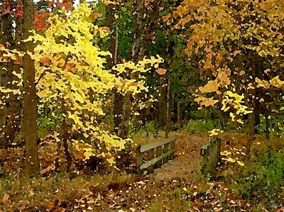 Painting - Autumn Color by Cole Black