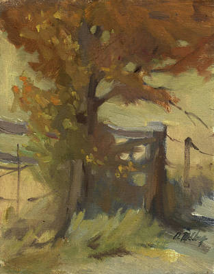 Painting - Autumn Color by Diane McClary