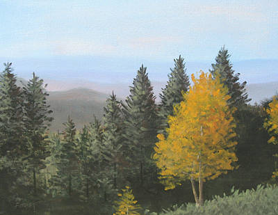 Painting - Autumn Colors by Gene Foust