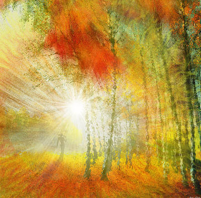 Drawing - Autumn Colours by Igor Zenin