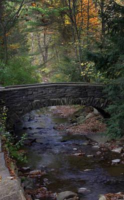 Autumn Creek Art Print by J Allen