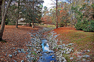 Photograph - Autumn Creek by Linda Brown