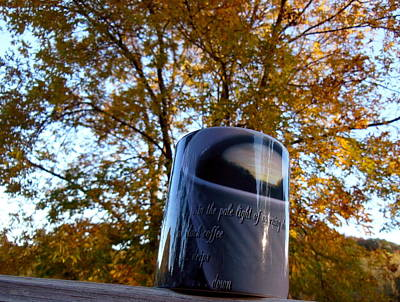 Photograph - Autumn Cuppa by Wild Thing