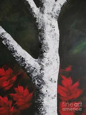 Autumn Dance Art Print by Beverly Livingstone