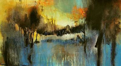 Painting - Autumn by David Figielek