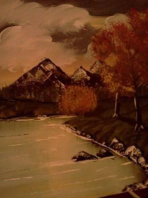 Autumn  Day  Art Print by Renee McKnight