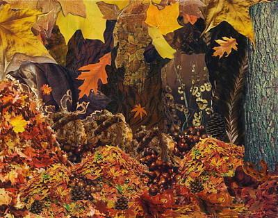 Mixed Media - Autumn by Denise Mazzocco