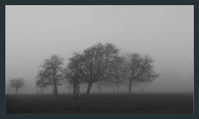 Photograph - Autumn Dense Fog by Maj Seda