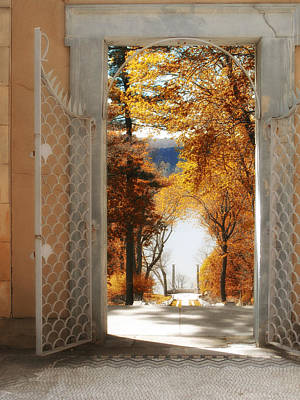 Autumn Entrance Art Print by Jessica Jenney