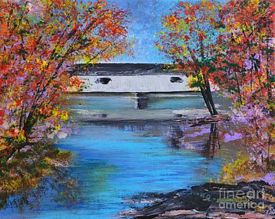 Autumn Evening Original by Alys Caviness-Gober