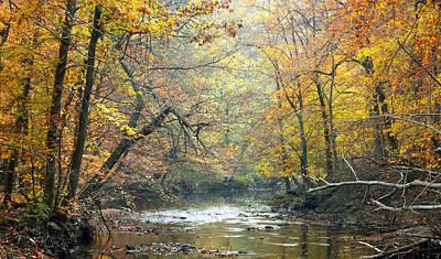 Pennypack Photograph - Autumn Fairmount Park Philadelphia Pennsylvania by A Gurmankin