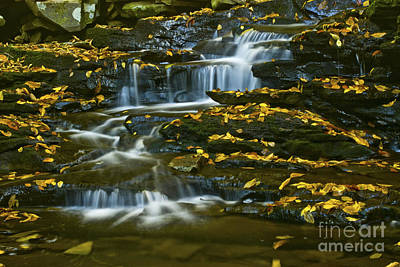 Photograph - Autumn Falls - 74 by Paul W Faust -  Impressions of Light