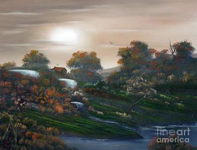 Kim Fearheiley Photography - Autumn Falls Over by Cynthia Adams