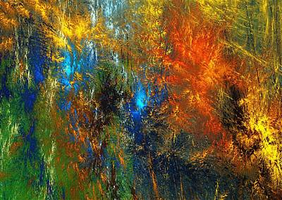 Digital Art - Autumn Fantasy 1013 by David Lane