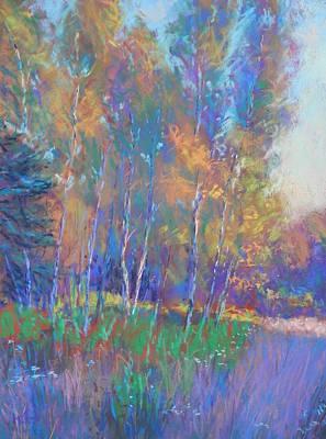 Autumn Fantasy Art Print by Michael Camp