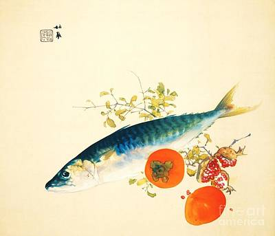 Fauna Painting - Autumn Fattens Fish And Ripens Fruit by Pg Reproductions