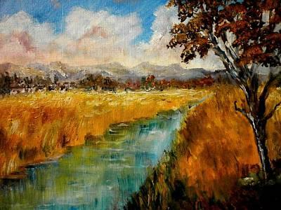 Autumn Fields Art Print