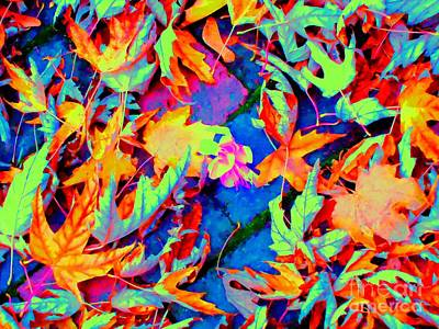 Autumn Fiesta Art Print by Ann Johndro-Collins