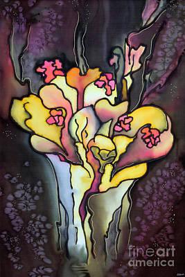 Autumn Fire Art Print by Ursula Schroter