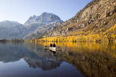 Photograph - Autumn Fishing by Priya Ghose
