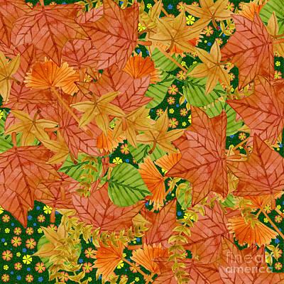 Autumn Floor Art Print by Gaspar Avila
