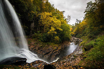 Art Print featuring the photograph Autumn Flow by Serge Skiba