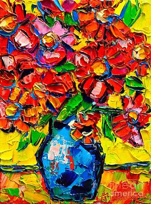 Autumn Flowers 7 Art Print by Ana Maria Edulescu