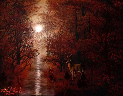 Autumn Forest Original by Michael Rucker