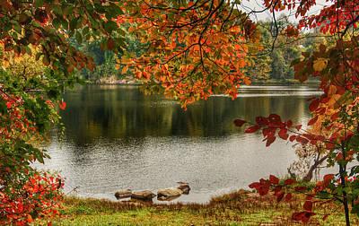 Photograph - Autumn Framed by Kathi Isserman