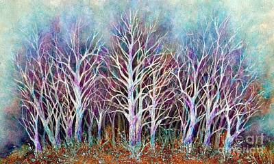 Vignette Painting - Autumn Frost by Janine Riley