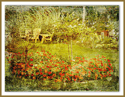 Photograph - Autumn Garden by Dianne  Lacourciere
