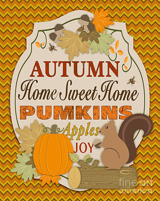 Autumn Gifts-b Original by Jean Plout