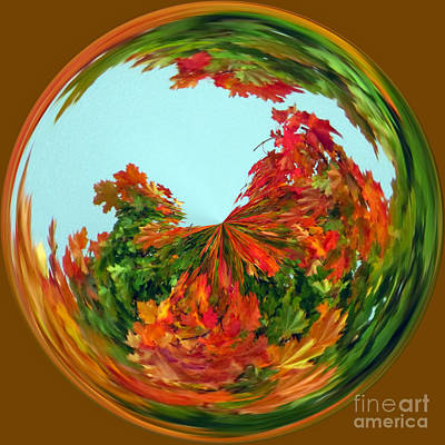 Photograph - Autumn Globe  by Tikvah's Hope