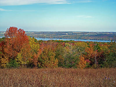Canandaigua Lake Photograph - Autumn Glory by Aimee L Maher Photography and Art Visit ALMGallerydotcom