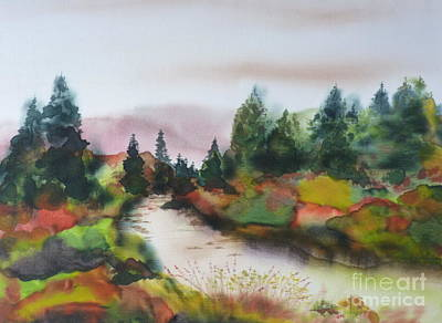 Painting - Autumn Glory by Hazel Millington