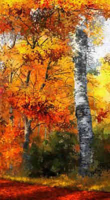 Dale Jackson Digital Art - Autumn Glory II by Dale Jackson