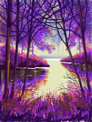 Painting - Autumn Glow by Glenn Marshall
