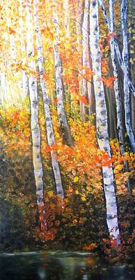Painting - Autumn Glow by Patti Gordon