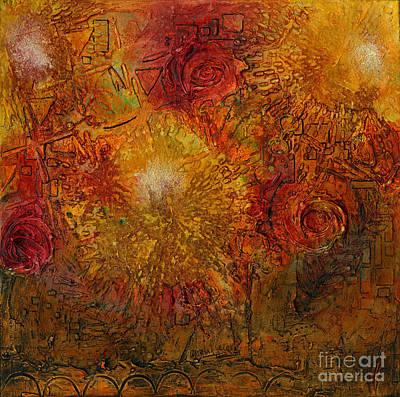 Painting - Autumn Glow - Wip by Angela L Walker