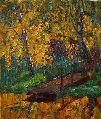 Painting - Autumn Gold by Korobkin Anatoly