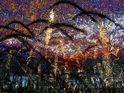 Digital Art - Autumn Grain by Kiki Art