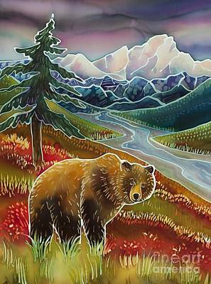 Denali Painting - Autumn Grizzly by Harriet Peck Taylor