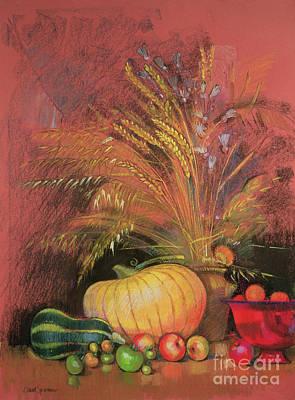 Bundle Painting - Autumn Harvest by Claire Spencer