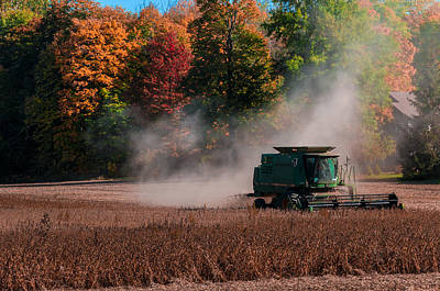 Autumn Harvest Art Print by Gene Sherrill